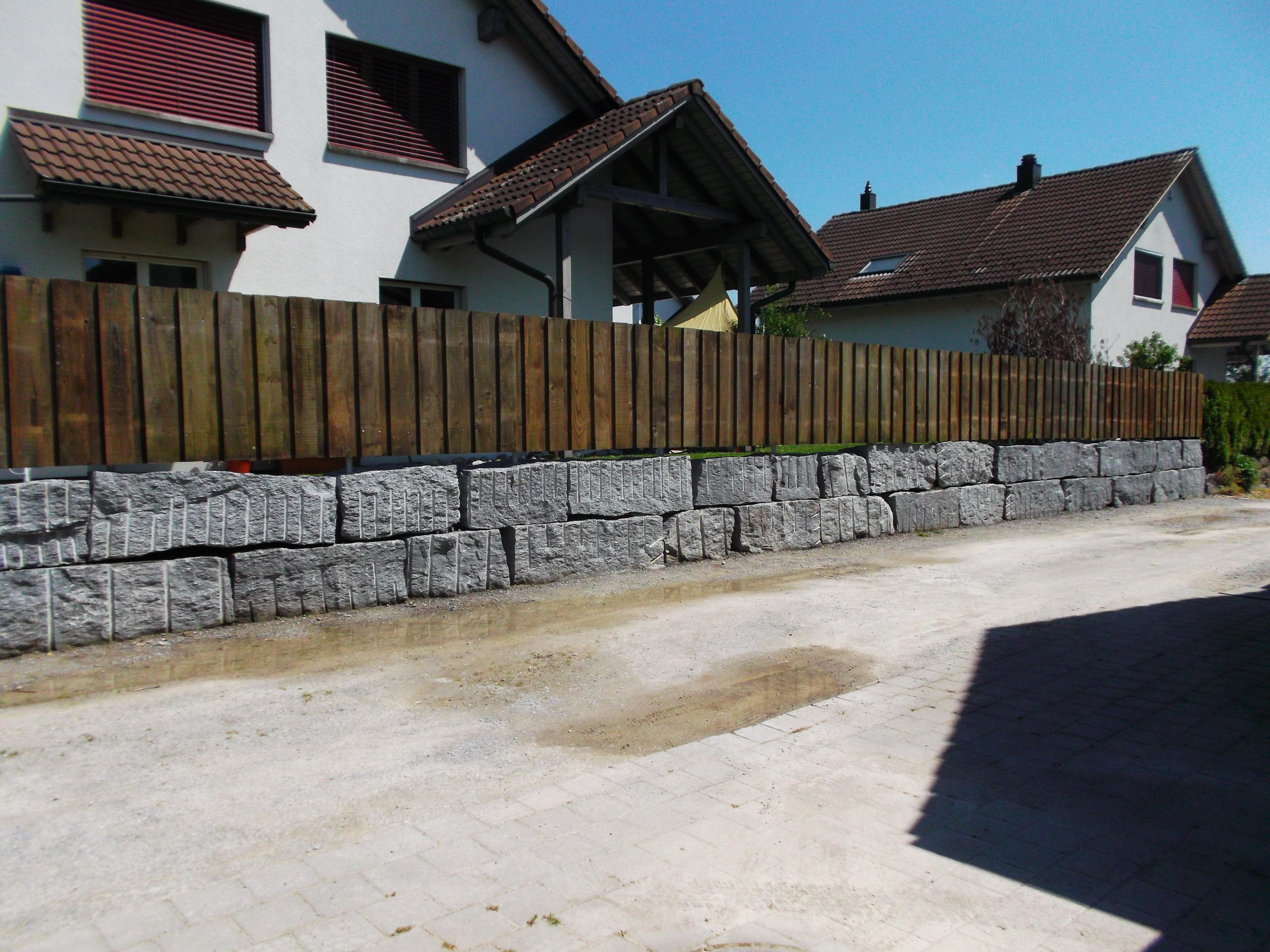 Sichtschutzzaun in Vilters(SG) Oktob