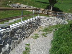 Weidezaun in Luzein