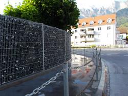 Sichtschutz mit Gabionen in Maienfel