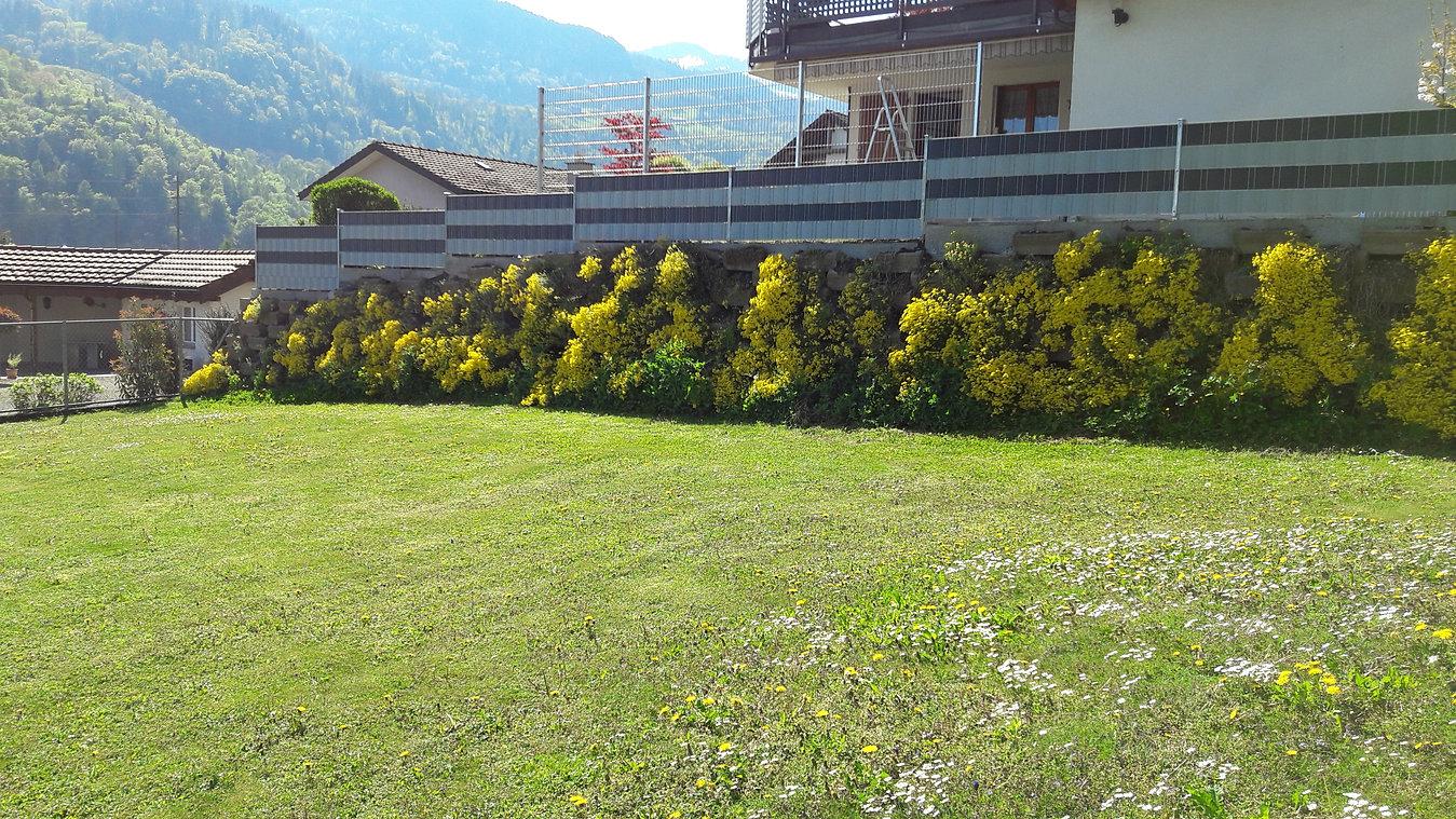 Zaun von huber zaunbau – dann passt es rundum