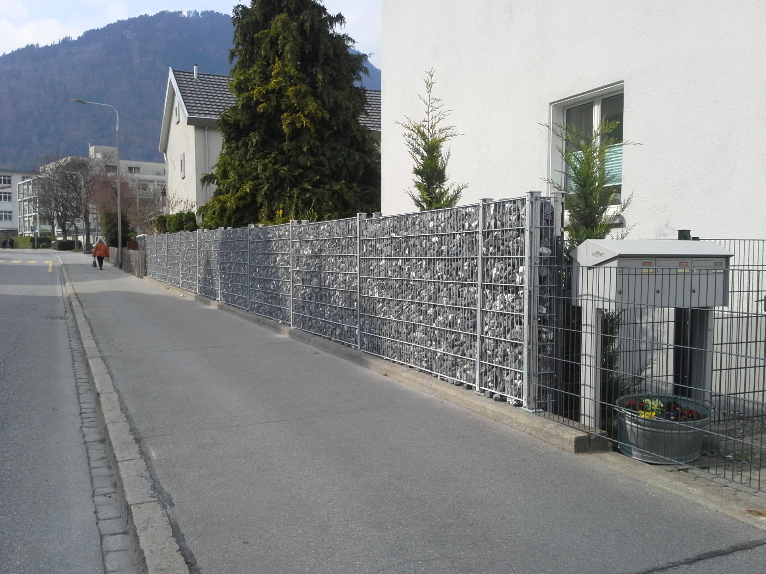 Gabionen in Chur