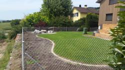 Diagonalgeflechtzaun in Weinfelden