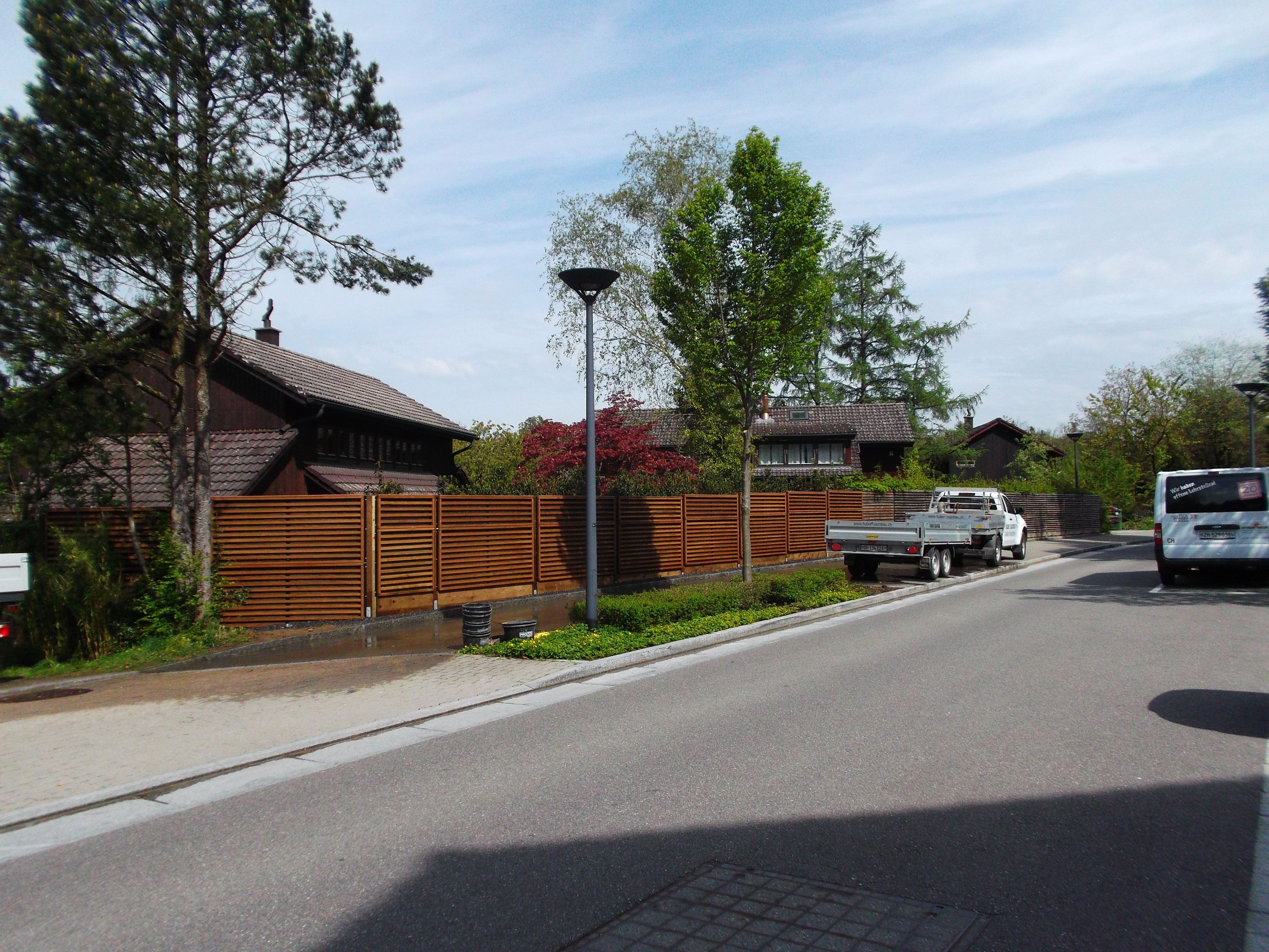Lärmschutzwand in Bad Ragaz(SG) Augu