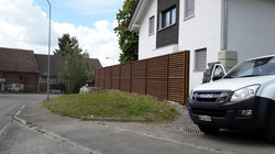 Lärmschutzzaun in Hefenhausen(TG) Ju