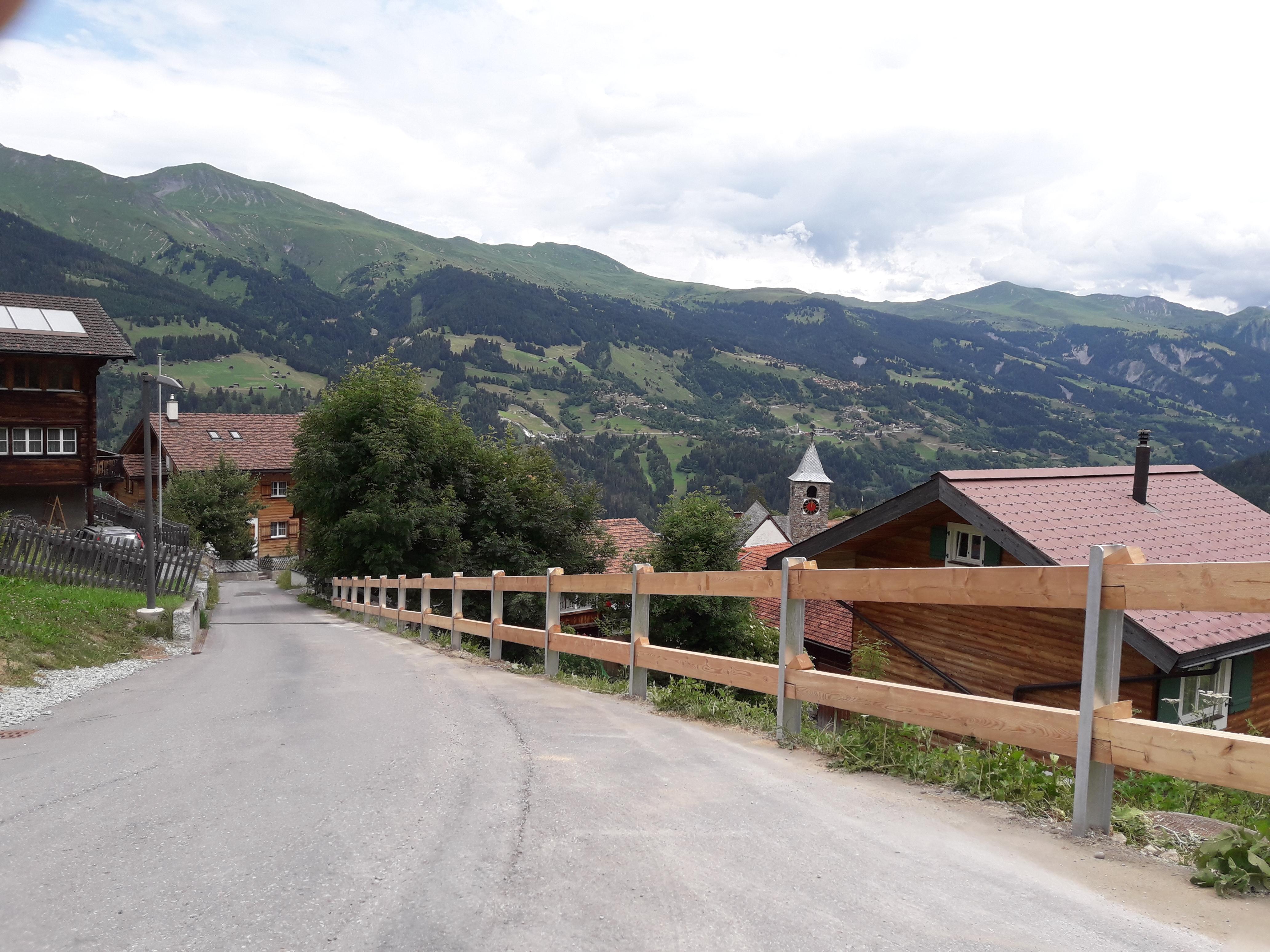 Buendnerzaun in Tschiertschen(GR) Ju