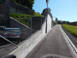 Diagonalgeflechtzaun in Vaduz(LI) J