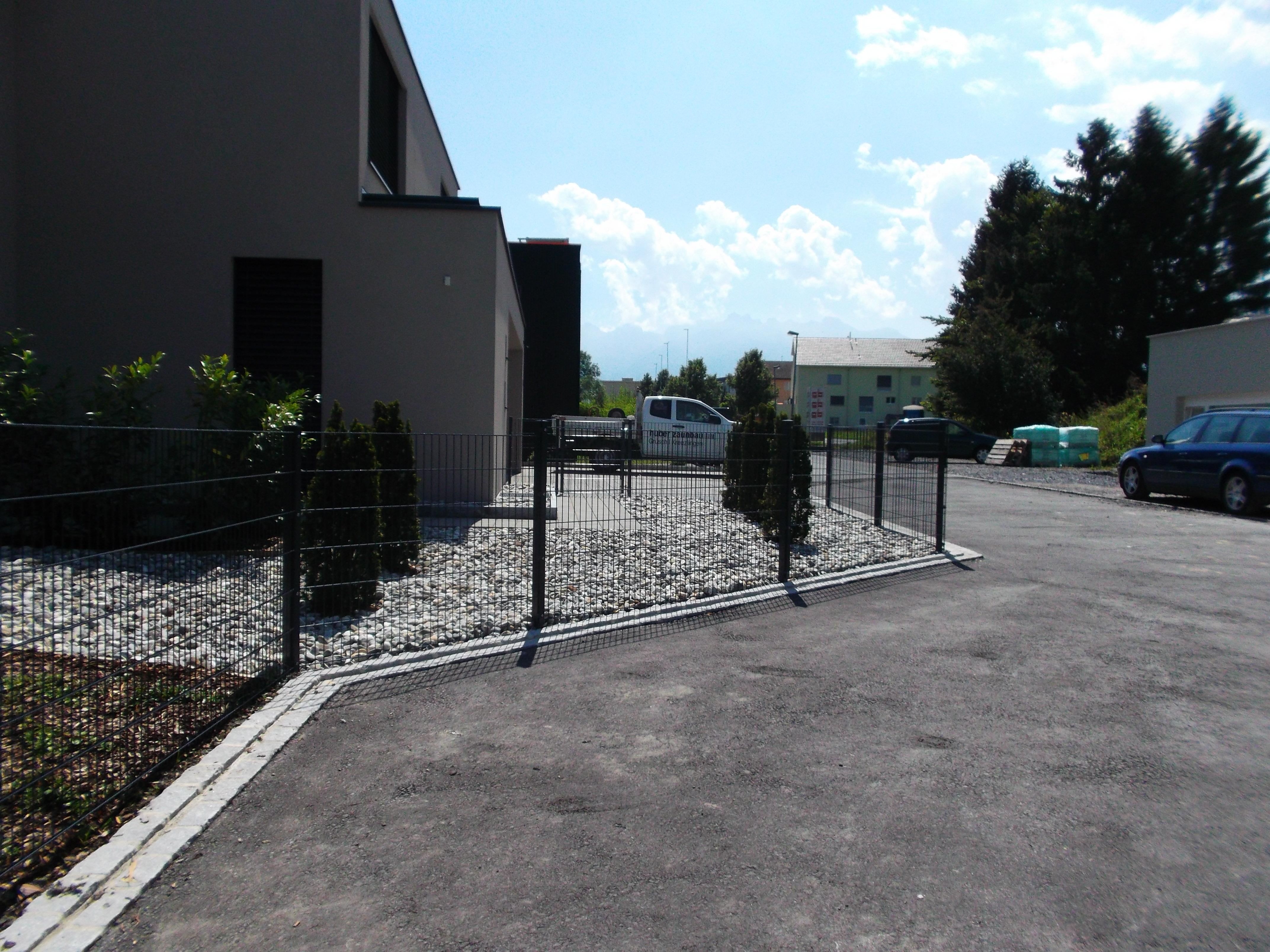 Doppelstabmattenzaun in Vaduz