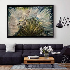 """Beauty of nature """" 100 x 150 cm oil on canvas"""