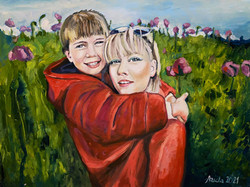 💗90 × 70 cm oil on canvas