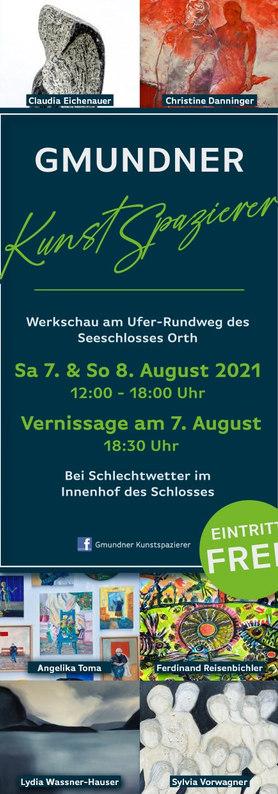 Gmunder kunst group exhibition