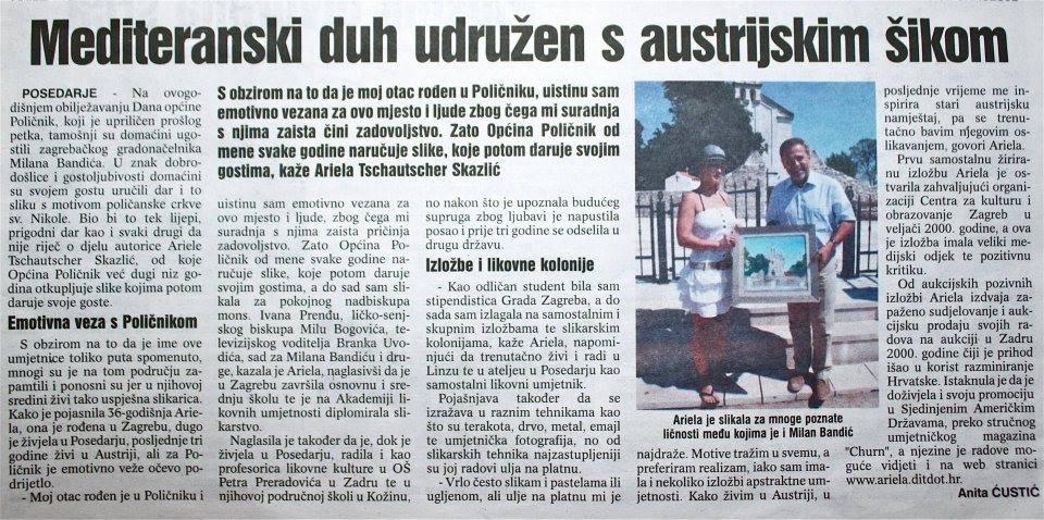 .Ariela Tschautscher Skazlic, Milan Bandic, Croatia