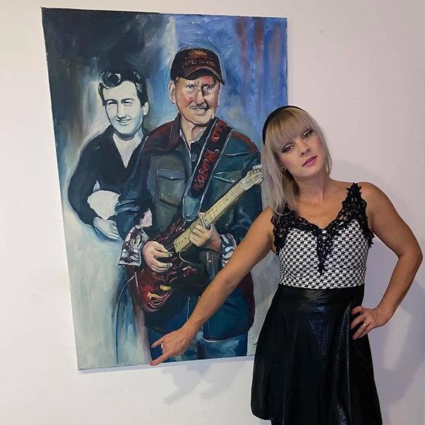 Ariela Tschautscher Skazlic & James Burt