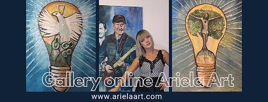 Gallery Online Ariela Art banner