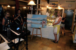 My first exhibition Attersee