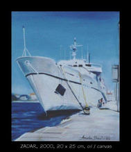 Zadar  oil on canvas