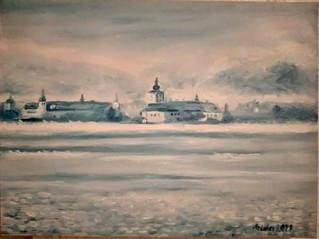 40 x 30 cm oil  on canvas