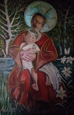 st Josef and Jesus