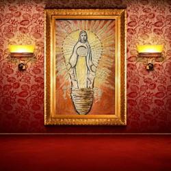 Holy Maria 100 x 150 cm light on 2019 - 20
