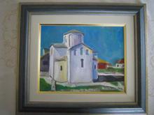 Nin oil on canvas sold