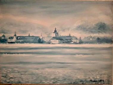 ❤️ 40 x 30 cm oil  on canvas