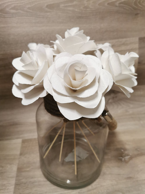Seed Paper Flower, Plantable Rose
