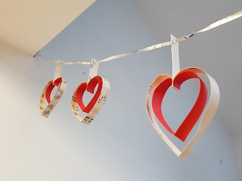 DIY Heart Bunting Kit