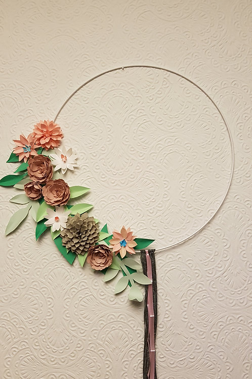 Large 40cm Hoop Decoration