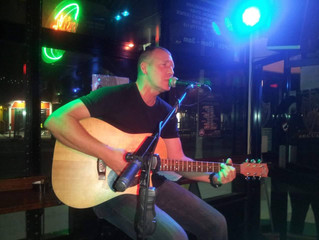 """Solo Artist Of The Month July 2016""""Justin Manwaring"""