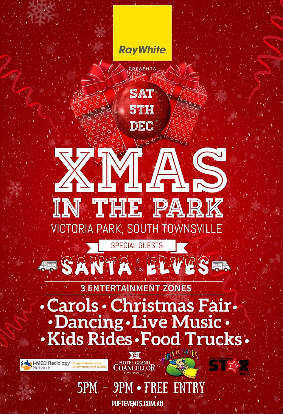 Xmas In The Park Townsville 5th Dec 2020