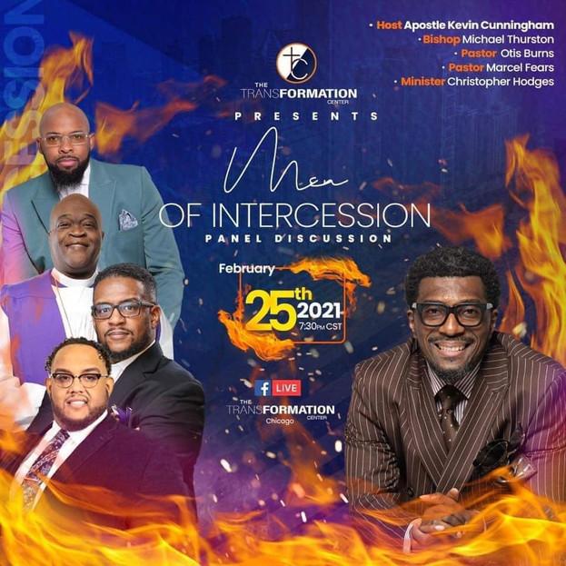 February event including Apostle Otis Burns