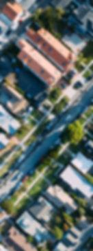 Vue aérienne d'une Maison