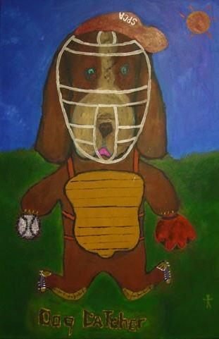 Dog Catcher 36x24