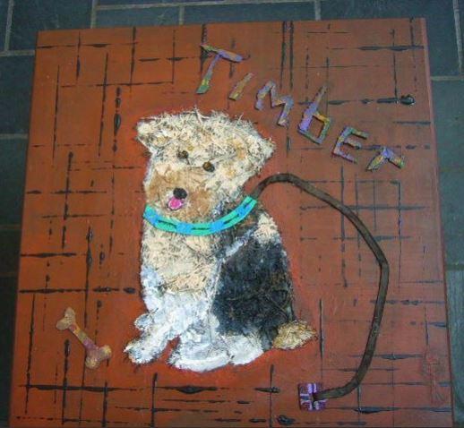 Timber I Doggie Stool