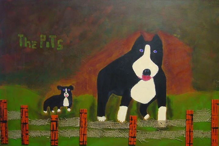 The Pits 24x36