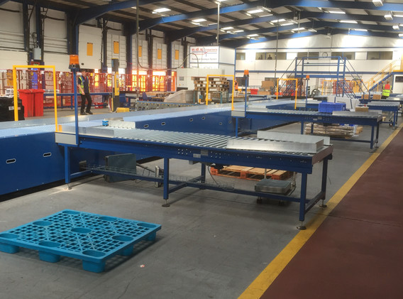 Line Shaft Conveyors