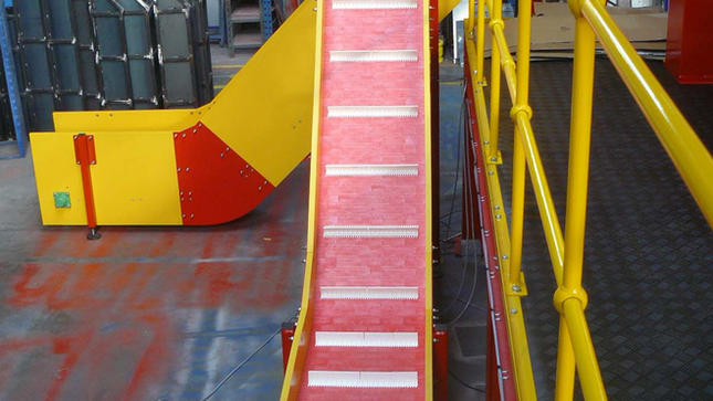 Plastic Modular Conveyors