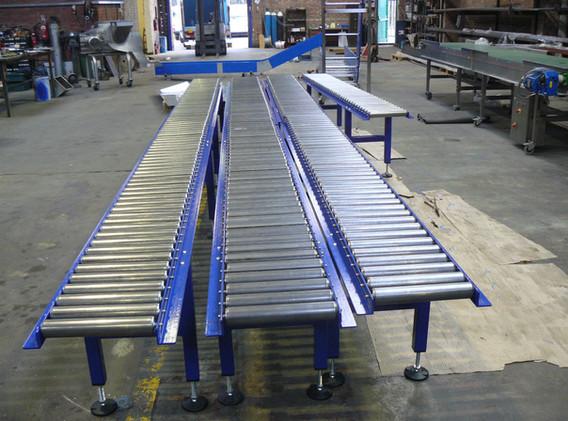 Gravity Roller Conveyors UK