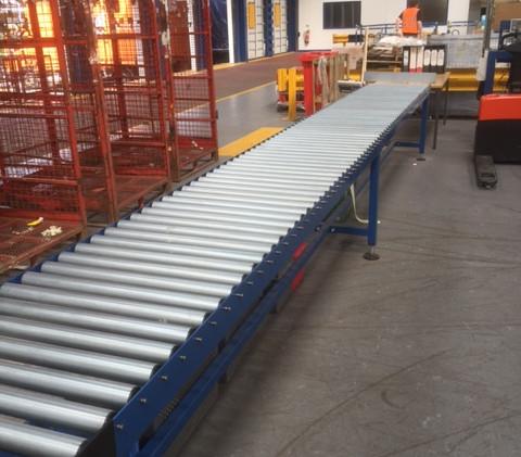 Gravity Roller Conveyor Belt