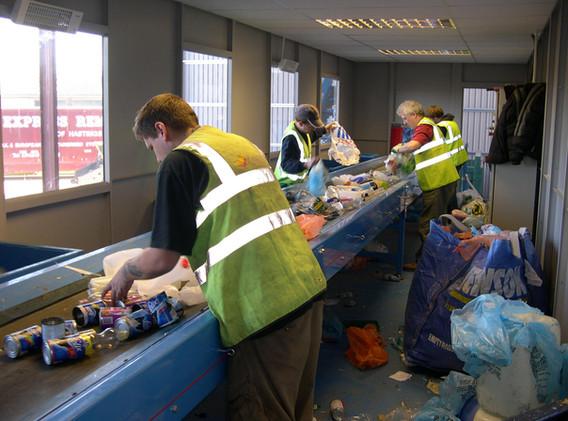 Waste Conveyor Belt