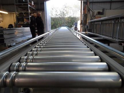 Line Shaft Conveyor Belt UK