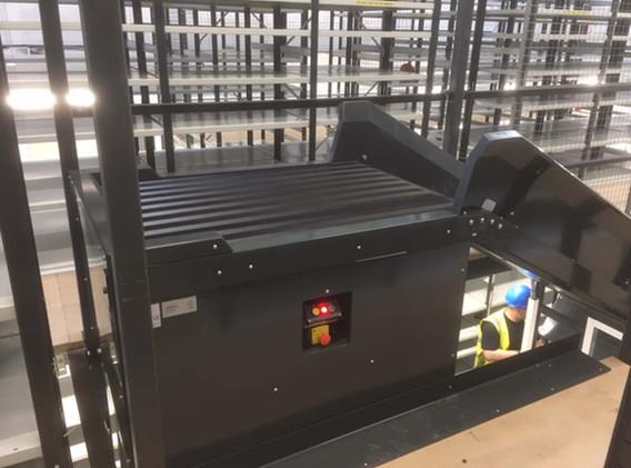 Mezz Floor Conveyor Belt