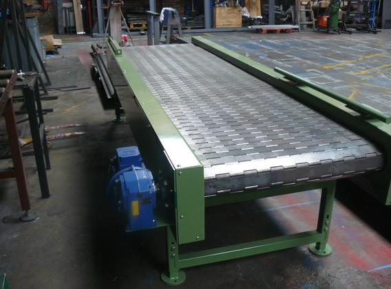 Industrial Plate Link Conveyors