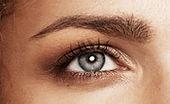 natürliches make up Augen Augenbrauen