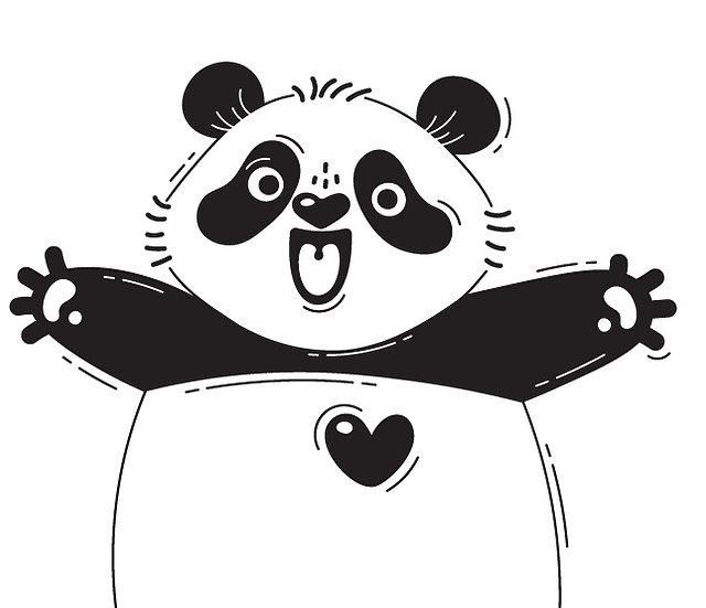 Hug like a panda