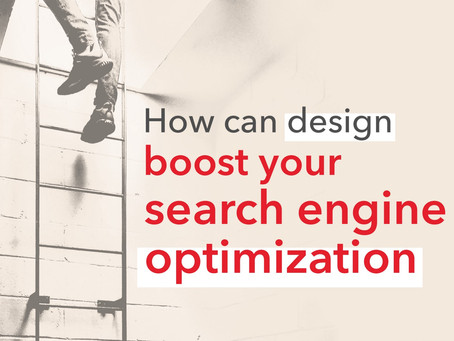 How can design boost your search engine optimization