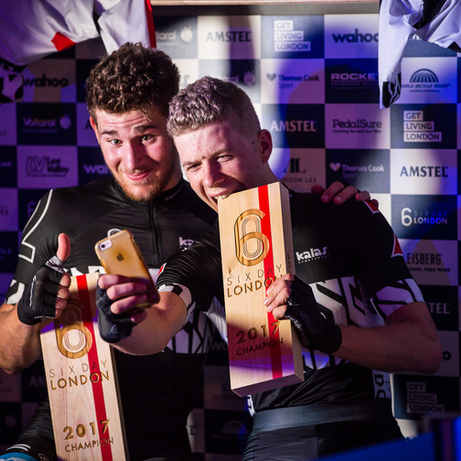 Six Day Series London 2017 Trophies