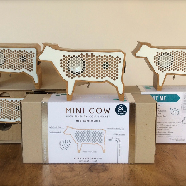 Mini Cow Speaker USB Rechargeable