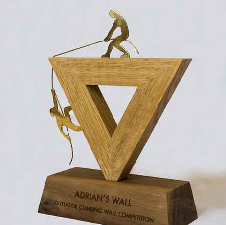 Climbing Wall Trophy