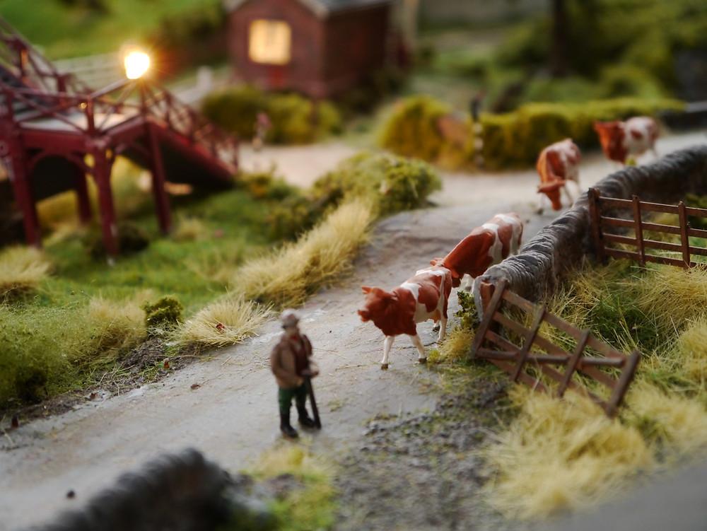 Model Railway Flocking