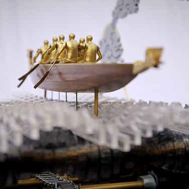 Dragon Boat Automata